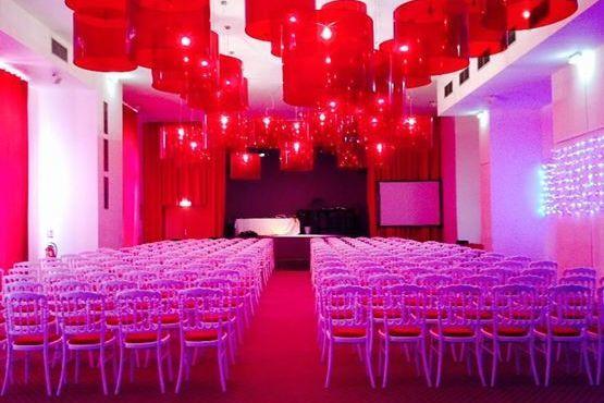 Casino - Cabourg Salle de réception format Thêatre