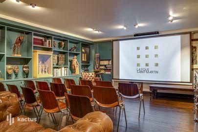 La petite bibliothèque (salle de conférence)
