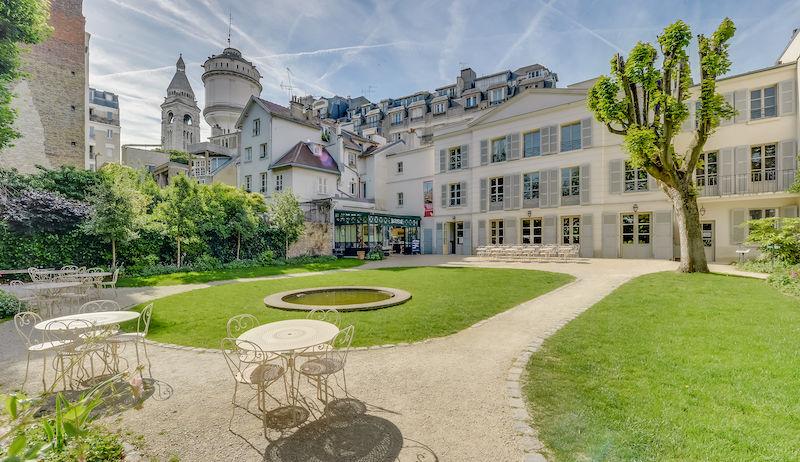 Musée de Montmartre Café Renoir