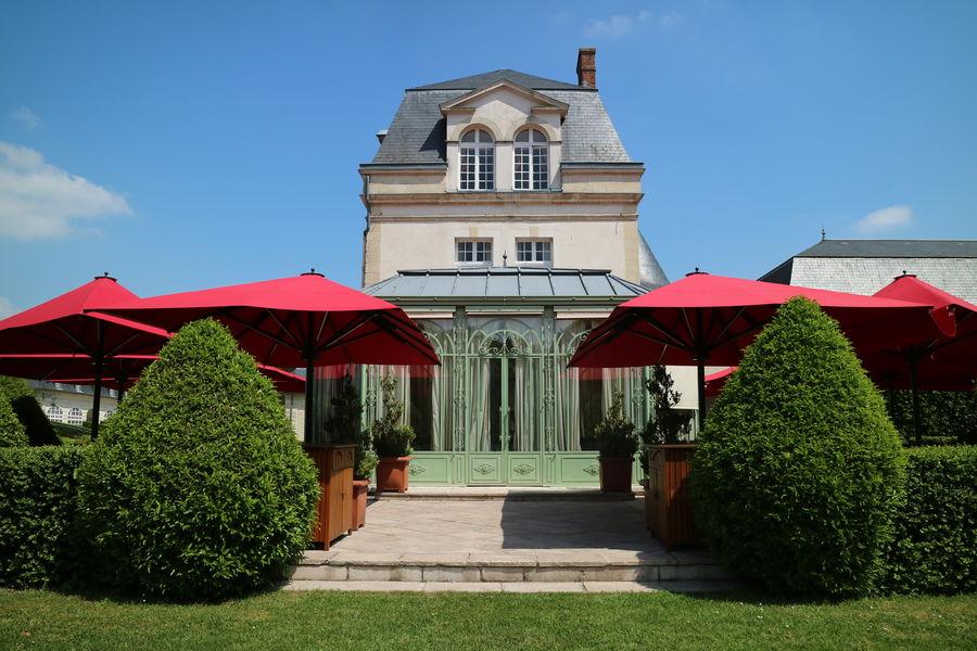 Château de Courcelles **** Terrasse