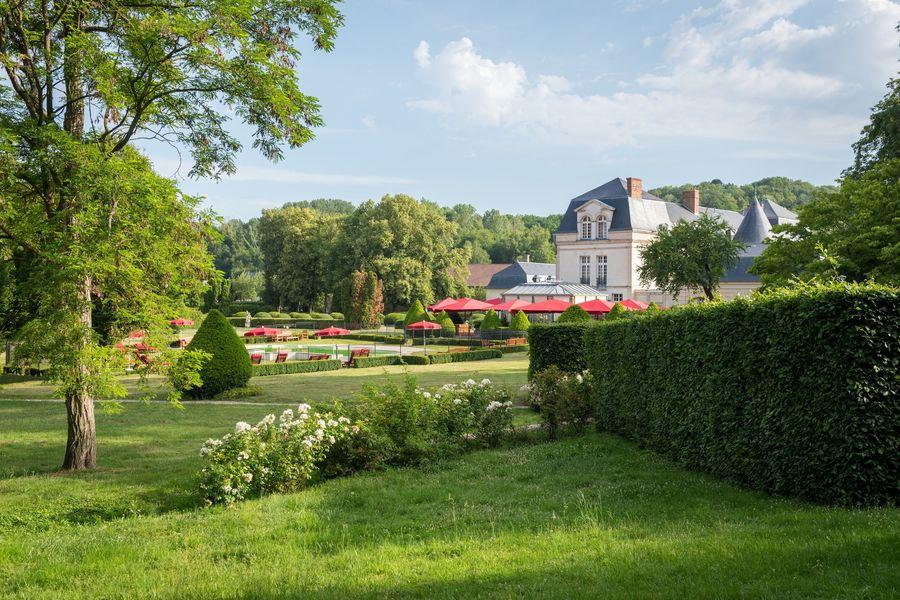 Château de Courcelles **** Vue domaine