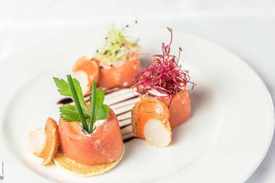 les Pléiades**** Hôtel-Spa-Restaurant Plat gastronomique