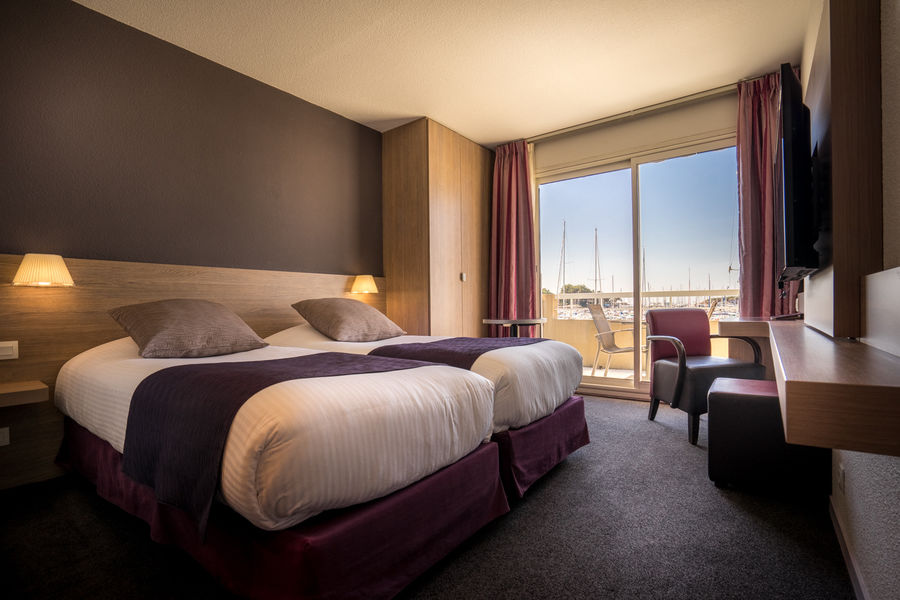 Best Western Hôtel La Marina **** Chambre twin