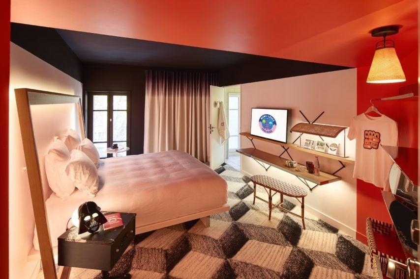 Mama Shelter Toulouse Chambre
