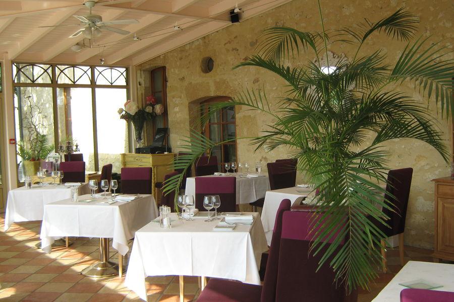 Château de Sanse salle restaurant