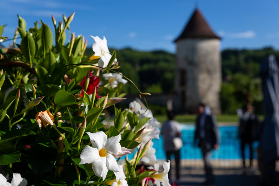 Château du Chapeau Cornu  Terrasse