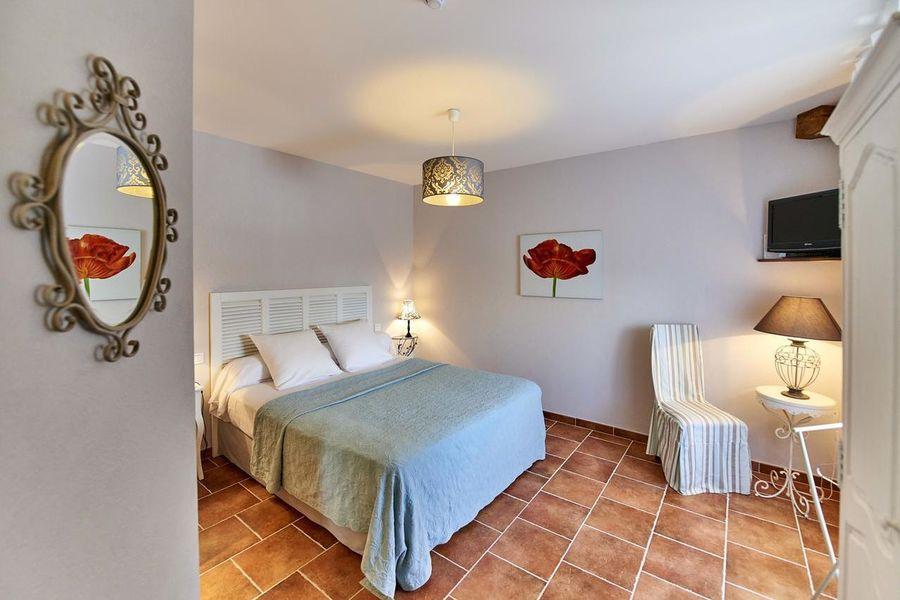 Hôtel Golf Château de Chailly **** chambre clos champagnac