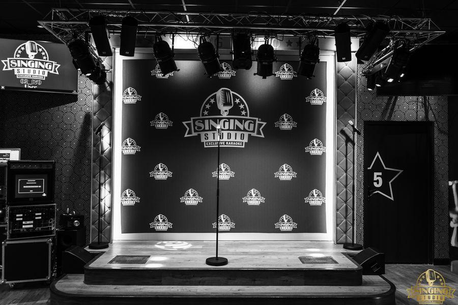 Singing Studio - Paris Scène pour showcase ou animation karaoké