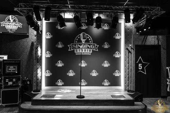 Scène pour showcase ou animation karaoké