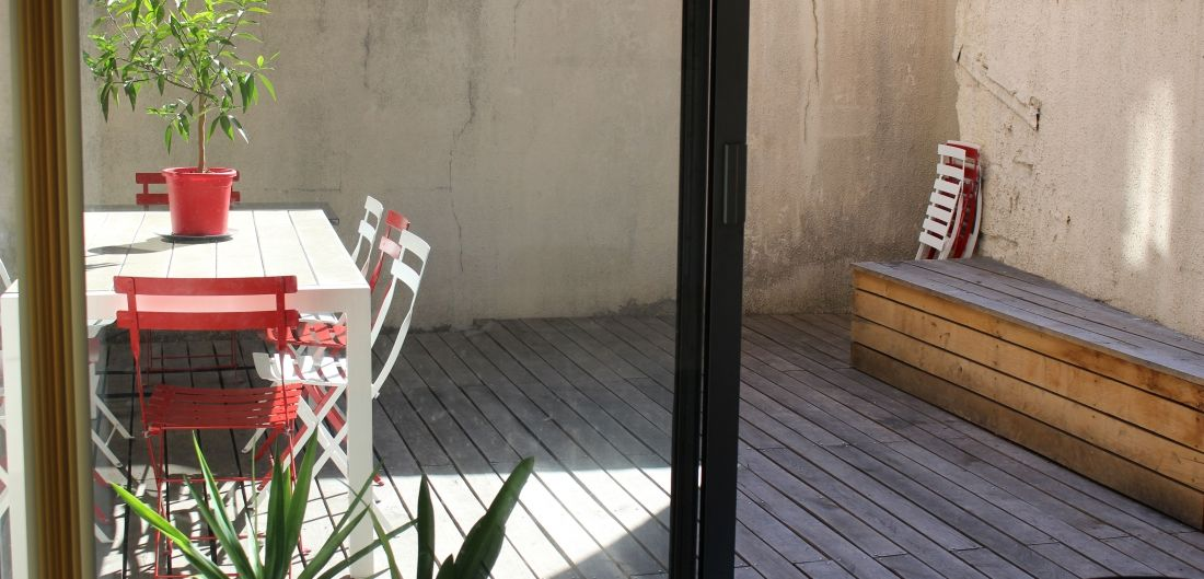 Bordo Buro Terrasse ensoleillée