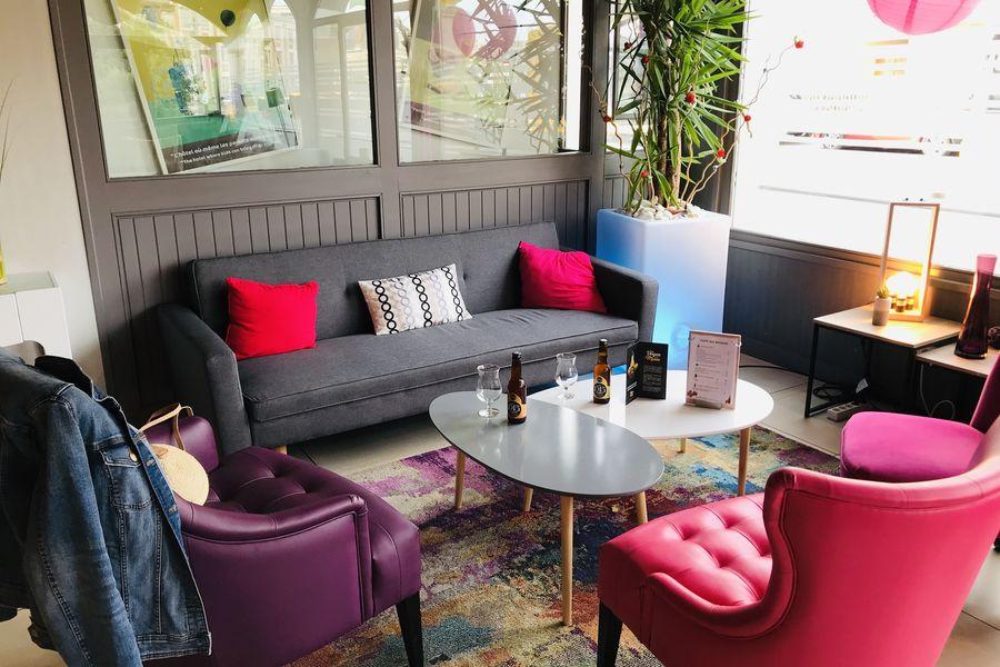 Hôtel Ibis Styles Blois Centre Gare Espace Bar Lounge