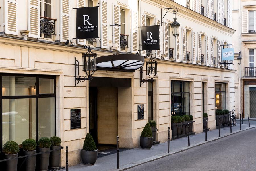Hôtel Marriott Renaissance Paris Vendôme  ***** Facade Hotel