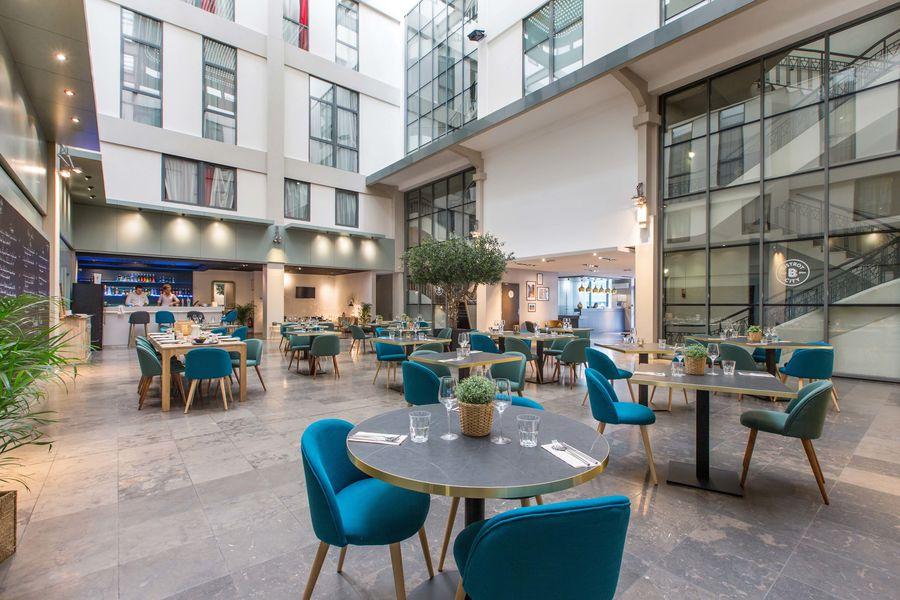Appart'City Confort Lyon Part-Dieu *** LE BISTROT CITY-espace restauration