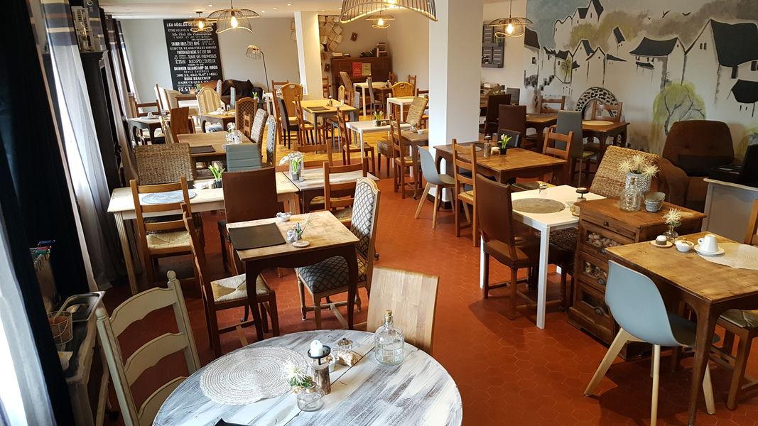 Hotel Maison Carrée - Restaurant O'Carré d'Art Salle de Restaurant