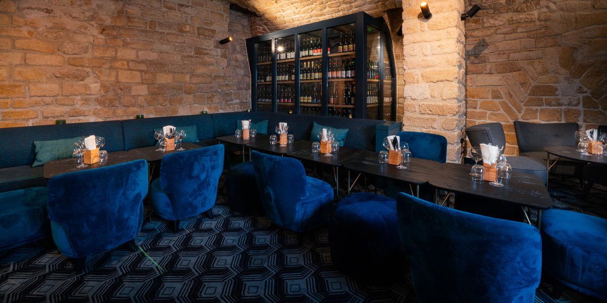 Breizh Café Montorgueil Le salon de la Cave à cidre