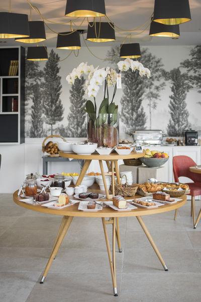 Domaine de la Tortinière **** Le buffet petit-déjeuner