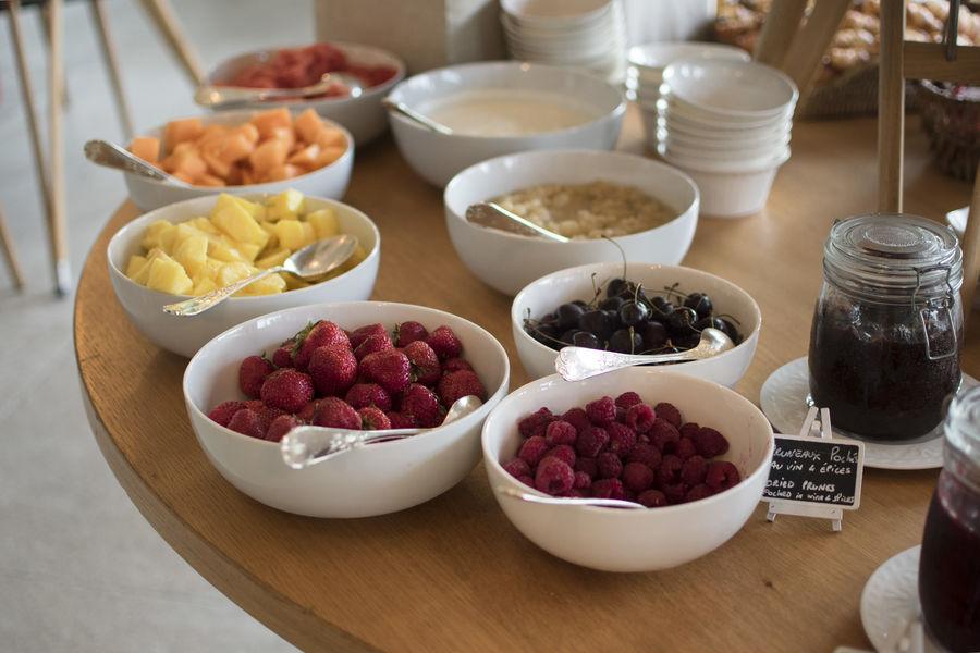 Domaine de la Tortinière **** Le petit-déjeuner