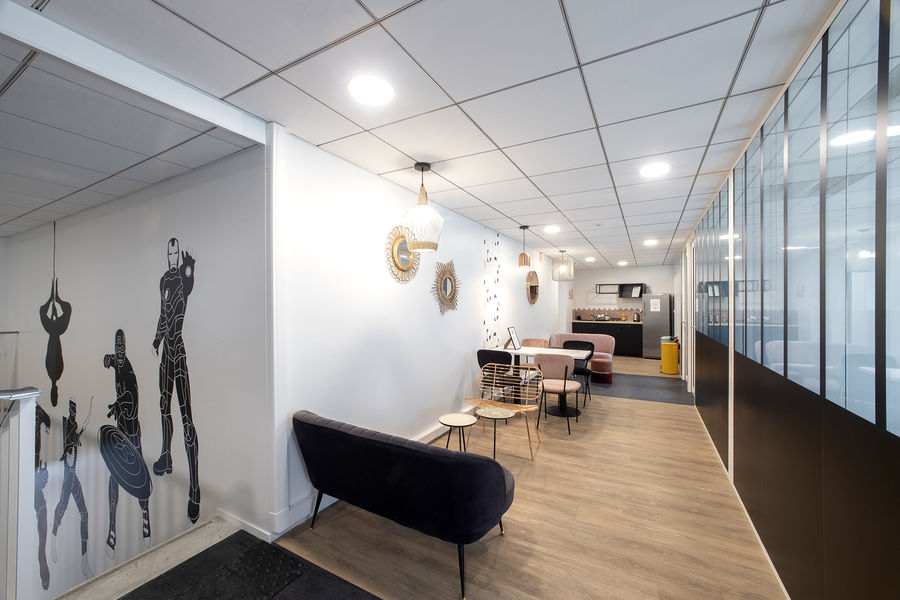 Cool & Workers - Neuilly sur Seine Couloir