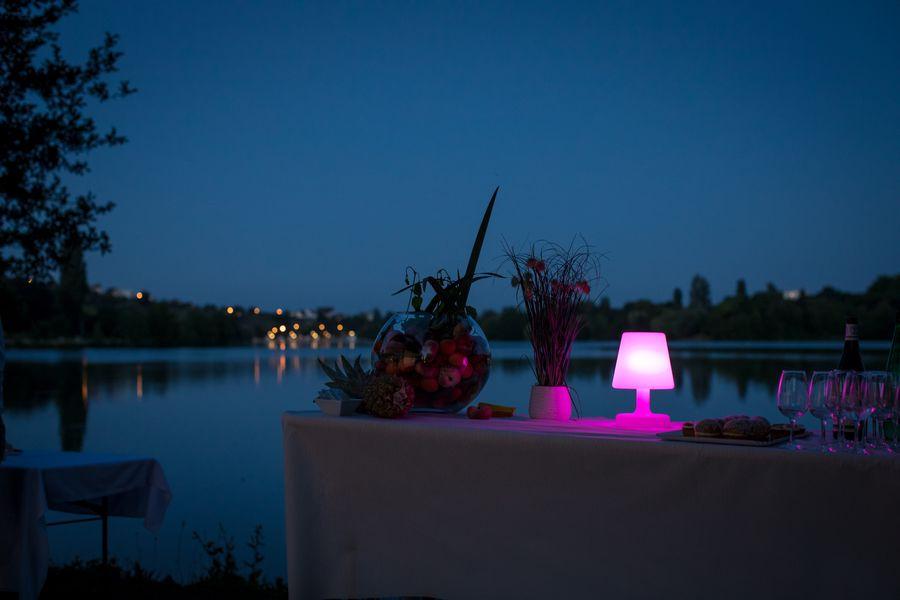 Domaine du Lac La nuit tombe