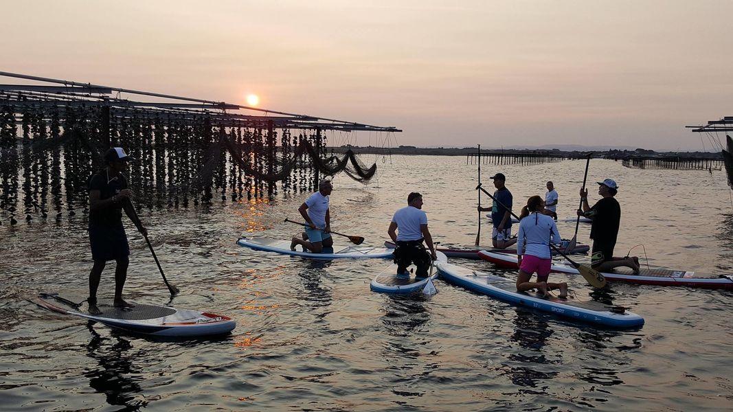 Comptoir de dégustation le St Barth' au bord de la lagune  Activité paddle - découverte - sur mesure