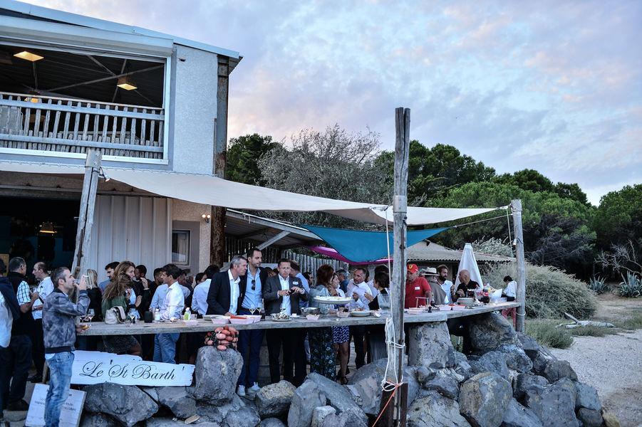 Comptoir de dégustation le St Barth' au bord de la lagune  Cocktail