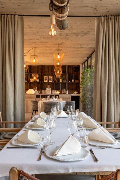 Le Domaine Tarbouriech repas à la table des amis