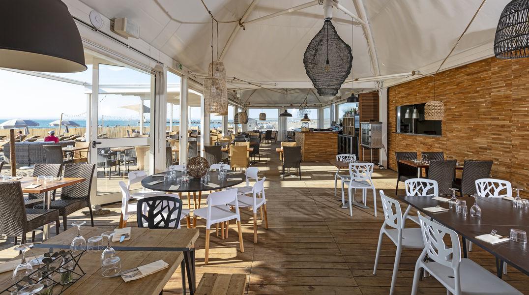 Hôtel les Bains de Camargue Thalazur **** Restaurant de plage