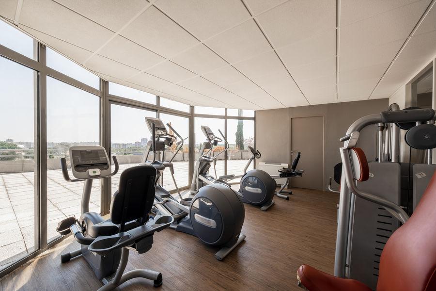 Quality Hôtel du Golf Montpellier Juvignac *** Salle de fitness