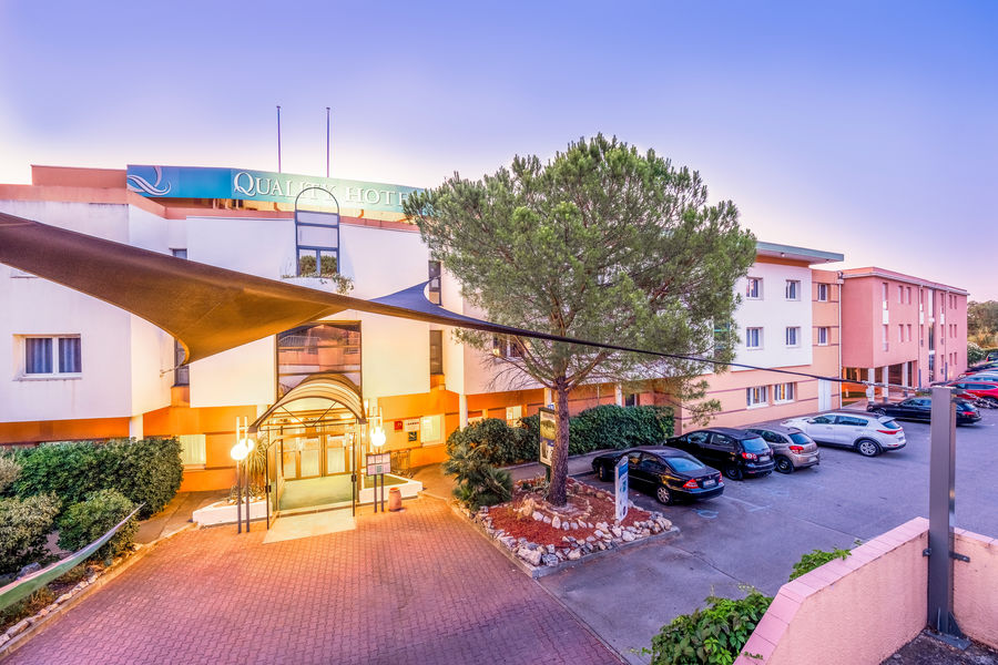 Quality Hôtel du Golf Montpellier Juvignac *** Vue d'ensemble  extérieur Hôtel