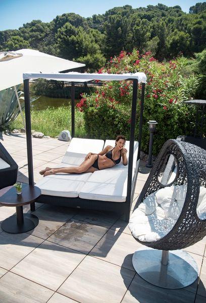 Le Phoebus *** terrasse piscine