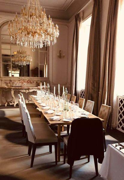 Château des Reynats**** Table d'hôtes du Restaurant du Château