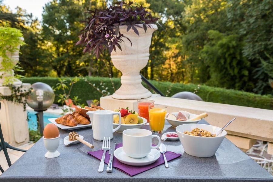 Château des Reynats**** Petit-déjeuner