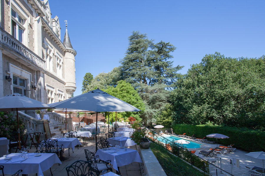 Château des Reynats**** Terrasse