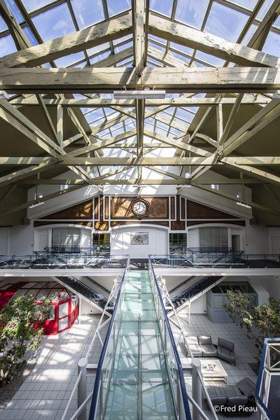 Grande Halle Oberthur Grand hall - Passerelle