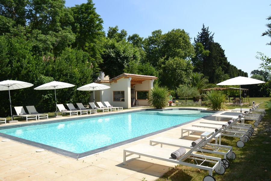 Mas de Capelou La piscine