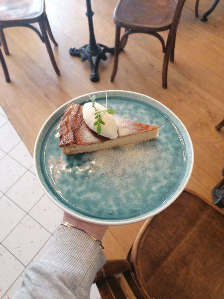 Comme à la Maison - Lyon Ex Dessert: Tarte panais, chantilly vanille et tonka