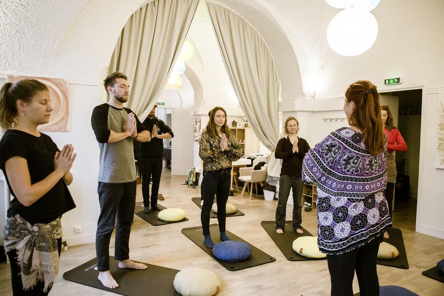 Louty Activité Teambuilding YOGA - salle principale