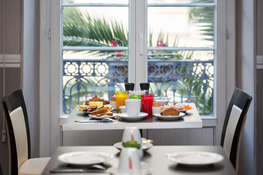 Best Western Hôtel Lakmi Nice Petit-déjeuner
