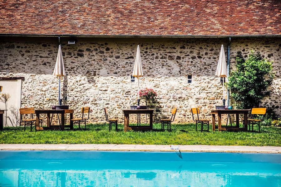 Domaine de la Thibaudière Espace piscine