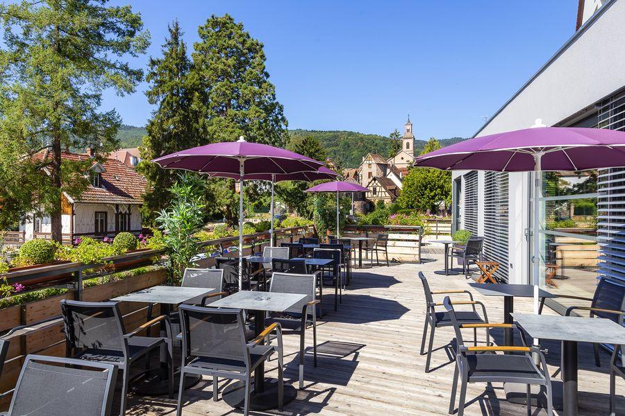 Best Western Hôtel & SPA le Schoenenbourg Terrasse