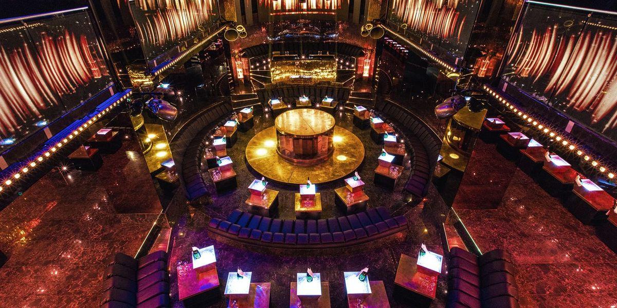 VIP Room Vue sur le Club depuis l'étage (Mezzanine & Restaurant)