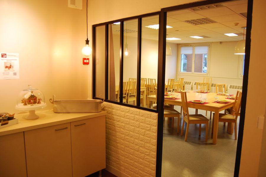 Astuces de chefs Espace Café à l'entrée de la salle