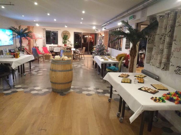 La Filature, l'ancien atelier de tricot Soirée à thème, La Filature plus modulable que jamais !
