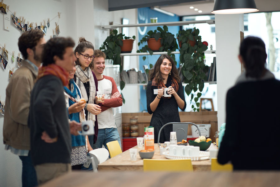 La Colloc Espace conférence - cuisine
