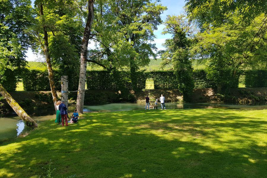 Manoir d'Hautegente La Nature et le calme, un parc pour des jeux