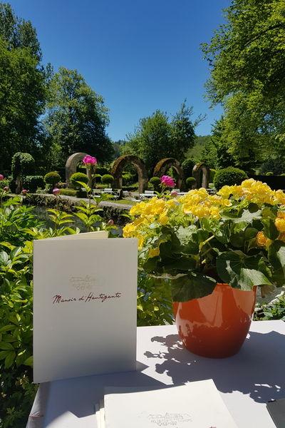 Manoir d'Hautegente Un joli jardin