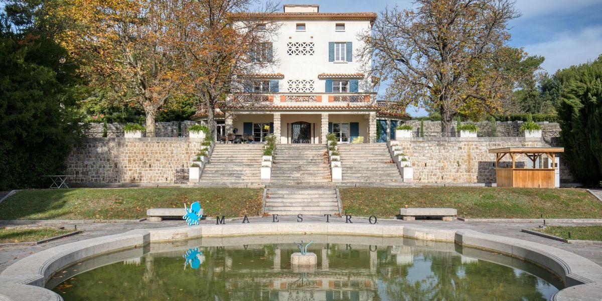 La maison Palatine Jardin à la française