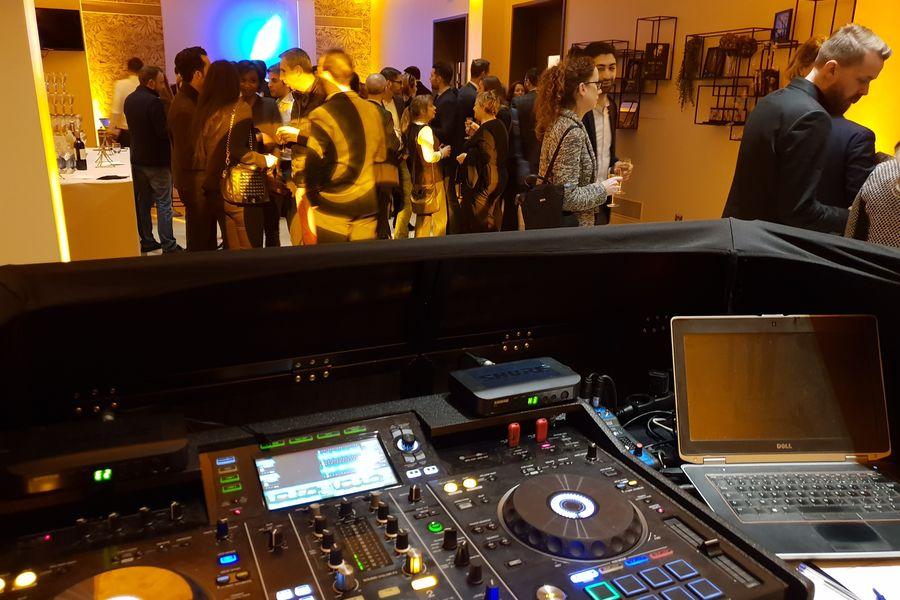 Le Cercle d'Aumale Le Studio au 1er étage en soirée