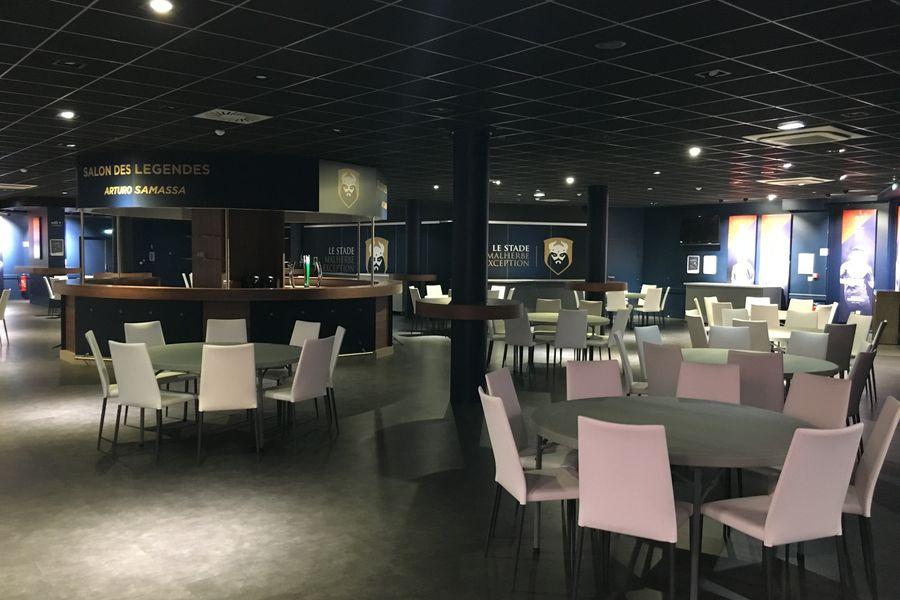 Stade Michel d'Ornano (Malherbe) Salon des Légendes
