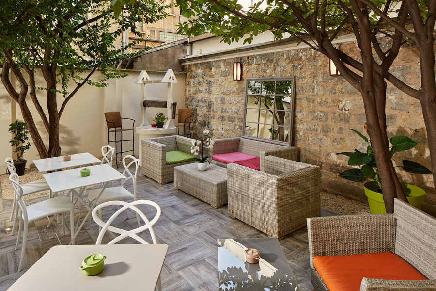 Villa Sorel *** Beaux jours, café en terrasse?